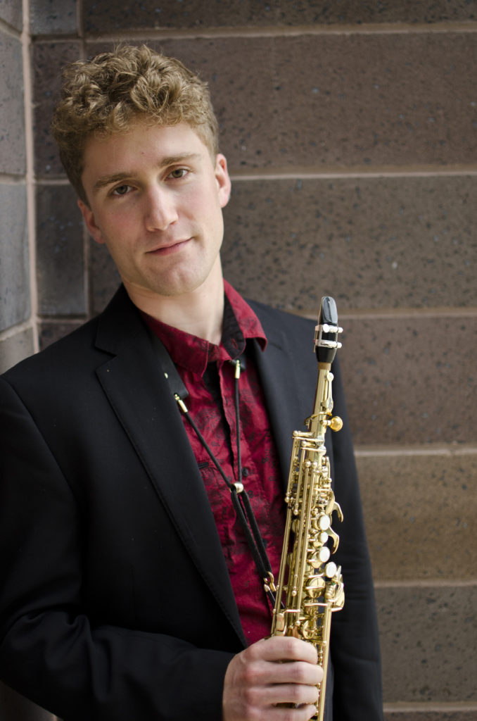 Saxophonist Jonathan Hulting-Cohen
